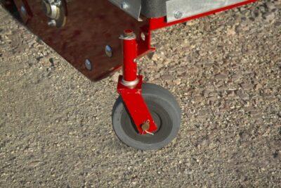 Optional swivel end wheels